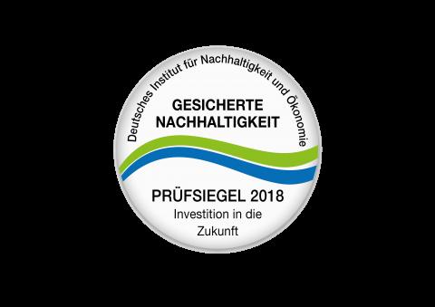 Gesicherte Nachhaltigkeit 2018