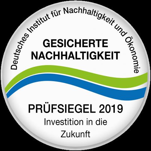 Gesicherte Nachhaltigkeit 2019